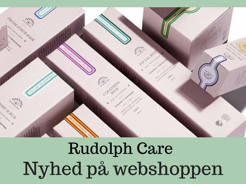Rudolph Care - eksklusiv hudpleje til kvinder