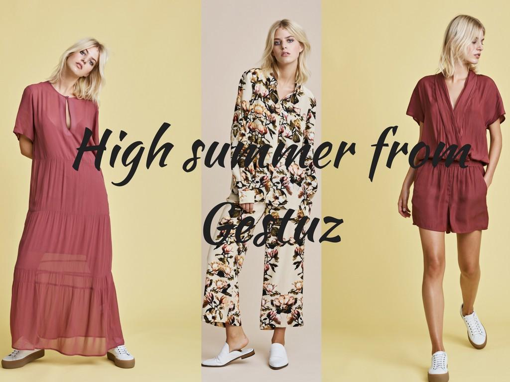 Nyheder fra Gestuz - kjoler og andet smart sommertøj
