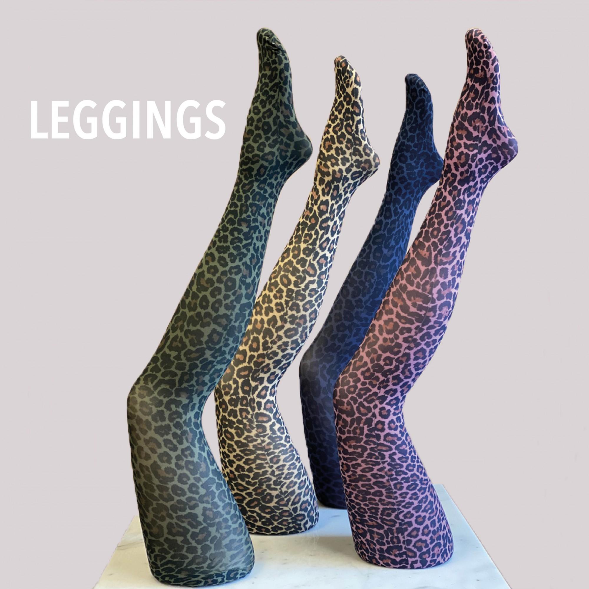 Leggings i forskellige farver og print