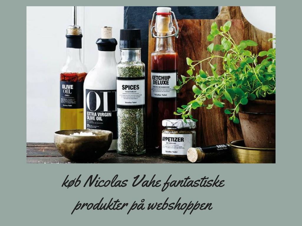 Nicolas Vahé lækre produkter til dit køkken