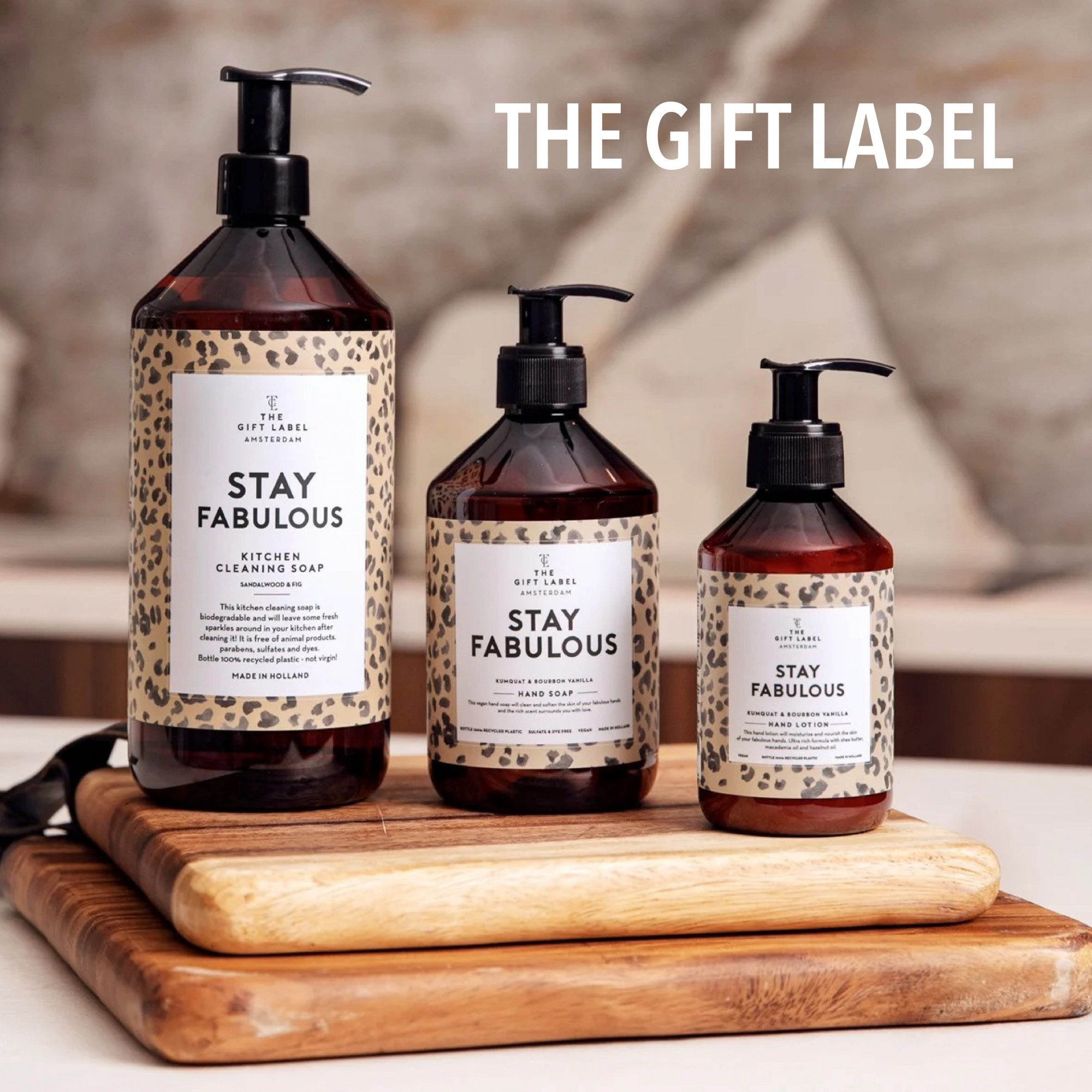 Stay Fabulous sæber fra The Gift Label