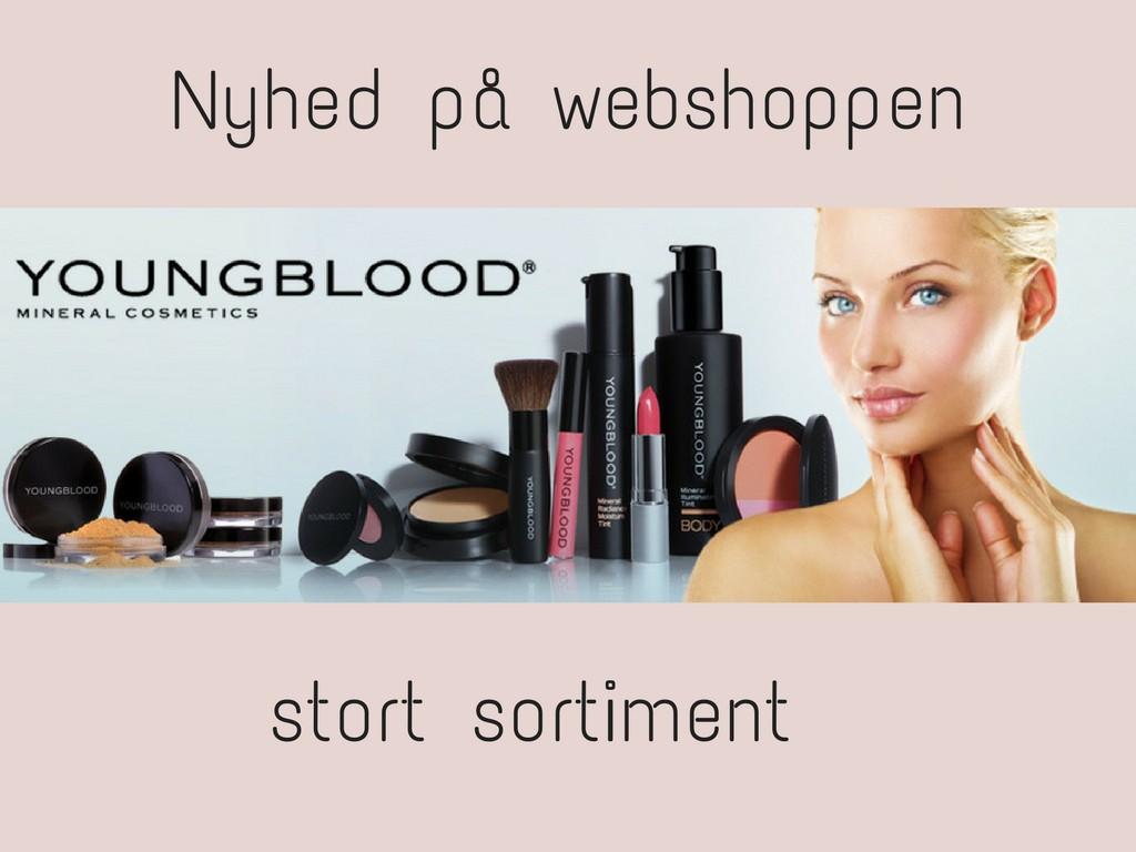 Youngblood makeup til kvinder
