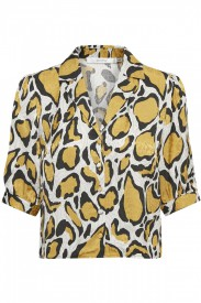 Gestuz - Irina Shirt Yellow Animal