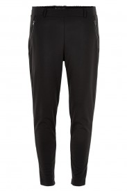 Ichi - Kate Zip Pants Black