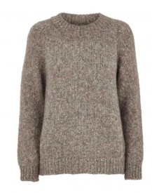 Basic apparel - Aliki Sweater Warm grey mel