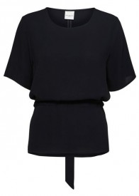 Selected Femme Tanna bluse navy