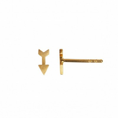 Stine A - Petit Love Arrow Earring Piece Guld