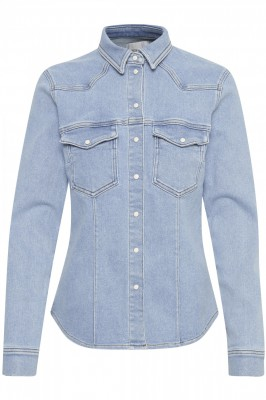 Gestuz - Astrid Shirt Denim Light Blue