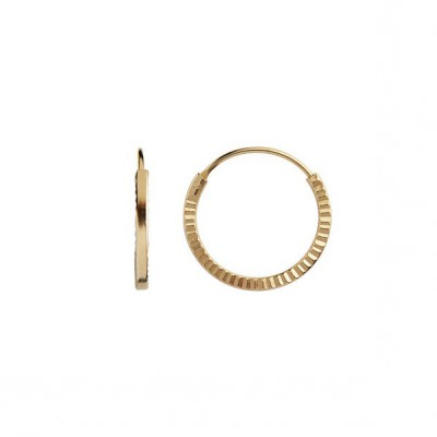 Stine A Petit Etoile Creol Earring gold