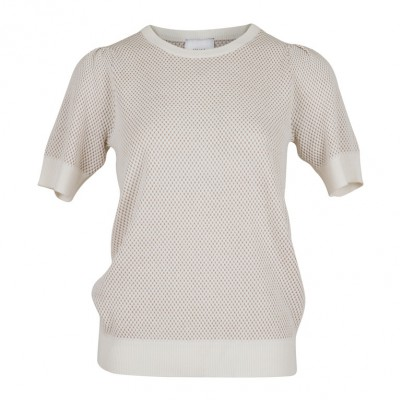556b785eb2ad Neo Noir - Mary Knit Tee off white