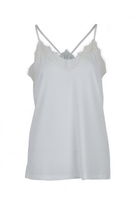 Neo Noir - Hanna Top Off White