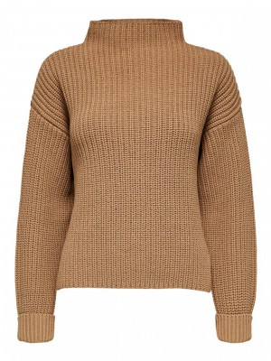 Selected Femme - Selma Knit tiger eye