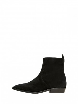 Selected Femme - Abigail Clean Cowboy Boot black