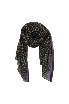 Black Colour - Karma Scarf Black