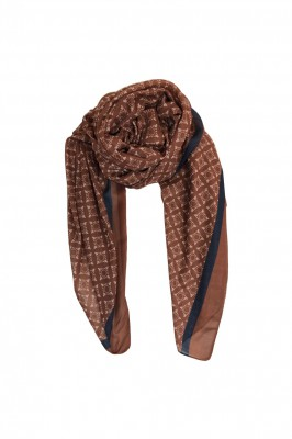 Black Colour - Karma Scarf Mocha