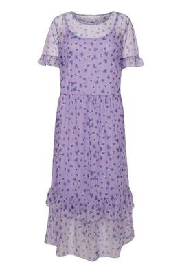 Ichi - Dagmar Dress lilla