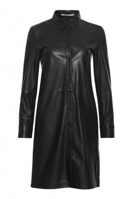 RUE de FEMME - Lianne leather shirtdress