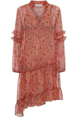 Continue - Sissel Burned Paisley Dress