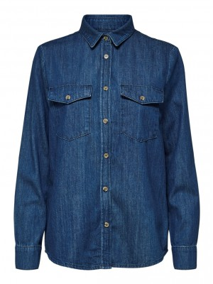Selected Femme - Abigal Denim Shirt