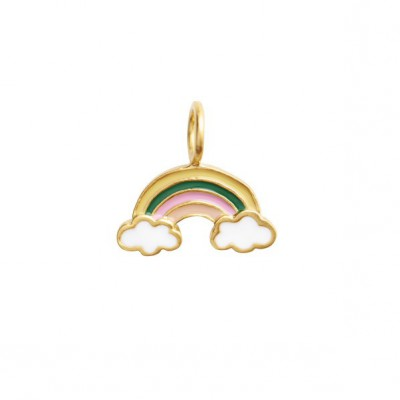 Stine A - Love rainbow with enmael pendant