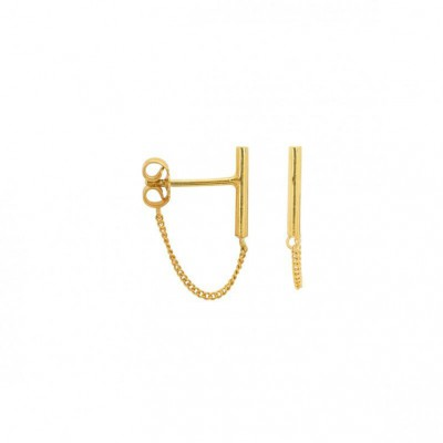 ANNA + NINA - Bar Chain Earring
