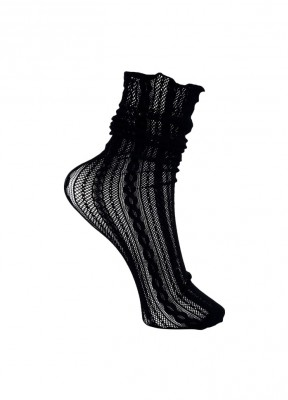Black Colour - Kelly knit sock black