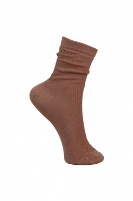Black Colour - Pearl knitted sock rose