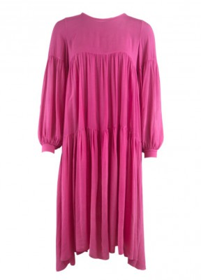 Black Colour - Lex Dress Pink