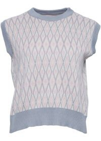Noella - Nira Vest Grey Soft Rose
