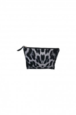 Black Colour - GABBY Cosmetic Bag Grey Leo