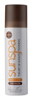 Sunspa Tan-in-a-can chocolate