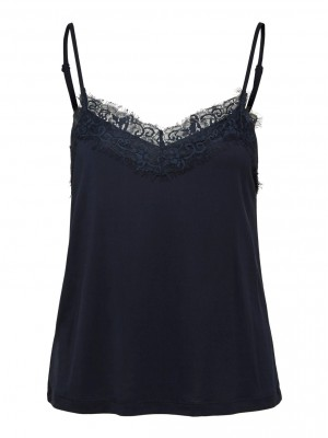 Selected Femme - Ella Lace dark sapphire