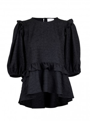 Neo Noir - Flow blouse Black