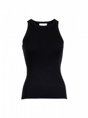 Neo Noir - Willy knit top black