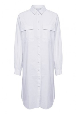 Gestuz - Stalia shirt dress Bright white