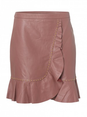 4971feea8c04 Fine Cph - Eligio Frill Skirt Rosa
