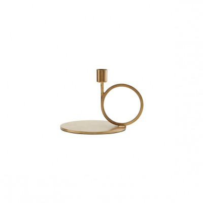House Doctor - Cirque candle stand brass finish
