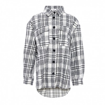 Noella - Vigga Shirt jacket Cream/black checks