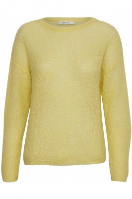 Gestuz molly pullover yellow pear