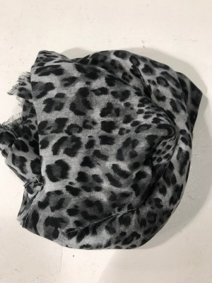 Three M - Scarve black/grey leo