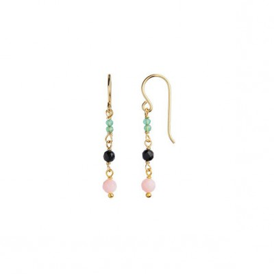 Stine A - Petit stone Earring on hook