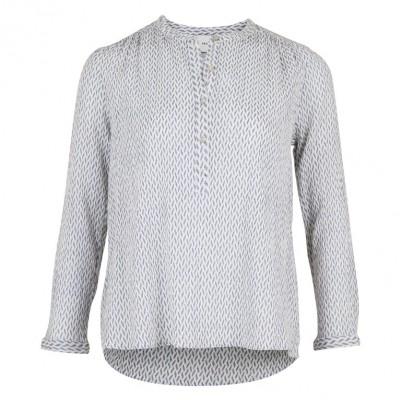 80299a60a514 Neo Noir - Gunbrit Crepe Shirt Shell Light Blue