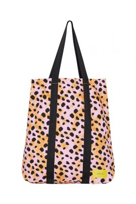 Gestuz - Gry tote bag Pink multi art