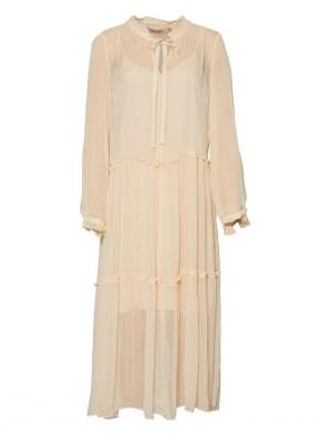 b4202639cd3a RUE de FEMME - Melodie Dress Nude