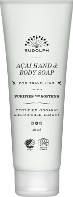 Rudolph Care - Acai Hand & Body Soap 50 ml.