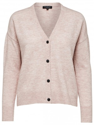 Selected Femme - Helka Knit Cardigan, Rose