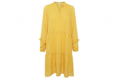 ichi - Donna Dress Yellow