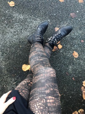 Selected Femme - leona leggings