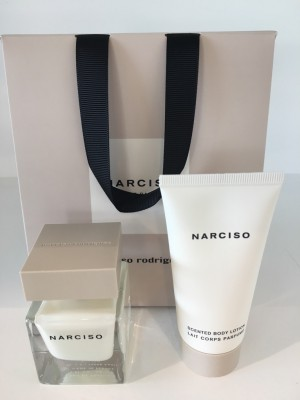 Narciso Rodriguez Sæt: EDP 30 ml + Bodylotion 50 ml