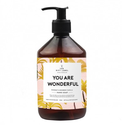 "The Gift Label - Hand Soap ""You Are Wonderful"""